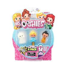 NEW DISNEY PRINCESS 4 PACK OOSHIES SERIES 1 PENCIL TOPPERS - 76479