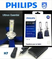 Genuine PHILIPS Ultinon Essential LED-HL H7 6000K White Headlight Bulb x2 #Agtc