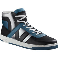 ac06e3f88320 NEW Auth Louis Vuitton Tribe Damier Geant Black Hi Sneakers US 7.5 EU 38   750