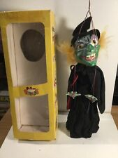 Vintage Pelham Puppets Wicked Witch Within Its Original Box