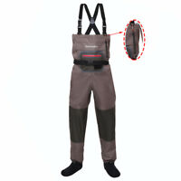 Fly Fishing Stocking Foot Wader Affordable Breathable Waterproof Chest Waders
