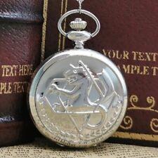 High Quality Full metal Alchemist Pocket Watch Pocketwatch Anime
