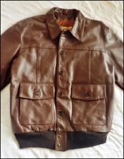 Lost Worlds Russet FQHH Leather Flight Jacket      |A2|A1|G1|Aero plane|Military