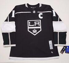 Los Angeles Kings Adidas Mens 50/M Anze Kopitar Authentic Pro Jersey Black