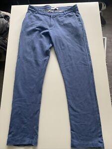 Orlebar Brown Large Petrol Blue Sweat Pants