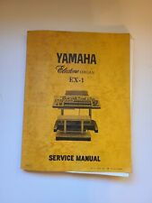 Yamaha EX-1 EX1 Organ Service Repair Manual Original