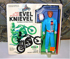 VINTAGEEVEL KNIEVEL STUNT SET FIGURE RARE 1st Ed 1972 NEAR GEM MINT IDEAL