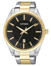 Citizen Mens Gold / Silver Tone Quartz Watch. Classic and Elegant. BI1034-52E