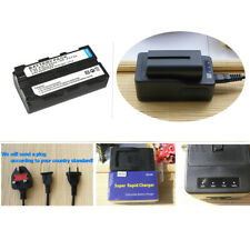 Battery +Rapid Charger for Sony NP-F550 F750 NP-F970 YONGNUO YN300 YN-160 YN-140