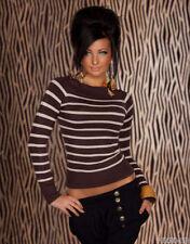 Damen-Pullover aus Seidenmischung Normalgröße