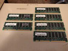 Lot Of 6 Hp Compaq Sdram Pc133R 4x256Mb 2x512Mb 133Mhz Cl3 Ecc Reg Memory 2Gb