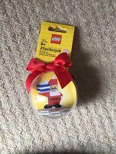 Lego Christmas Santa Holiday Bauble NEW