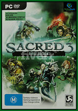 Sacred 3 First Edition PC Game ***Brand New/Sealed & AUS Stock ***
