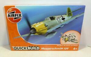Airfix Model Quick Build Kit Messerschmitt 109   Boxed