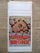 Locandina Terremoto nel Bronx - Jackie Chan