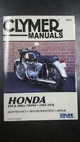 New Clymer Honda Service Manual 450 & 500CC Twins 1965-1967 M333