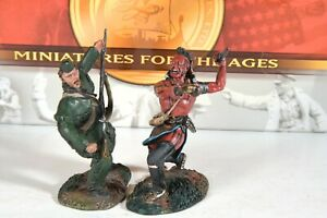 """Conte ROG014 """"Thunderstruck"""" 2 figure set (French and Indian War)"""