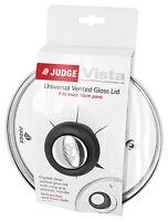 Judge Glass Spare Replacement Vented Saucepan Sauce Pan Lids Lid