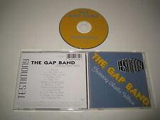 THE GAP BAND/TESTIMONY(LALIQUE/8122-71665-2)CD ALBUM