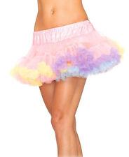 Sexy Leg Avenue Mini Layered Tulle Rainbow Colored Candy Girl Petticoat
