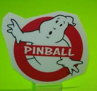Ghostbusters Pinball Machine Decal Original NOS Promo No Ghosts Halloween Ghoul