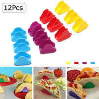 12Pcs Taco Holders Mexican Food Wave Shape Rack Stand Kitchen Cooking Tools SB