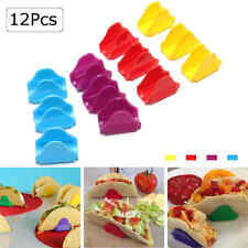 12Pcs Taco Holders Mexican Food Wave Shape Rack Stand Kitchen Cooking Tools L