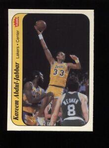 Kareem Abdul-Jabbar 1986-87 Fleer Stickers #1 - Lakers - Mint PSA MINSIZERQ