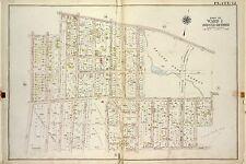 P.S RICHMOND COUNTY JAIL 1917 STATEN ISLAND NEW YORK COPY ATLAS MAP 10 /& 28