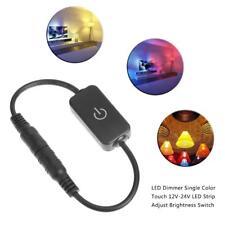 LED Dimmer Single Color Touch 12V-24V Strip Adjust Brightness Switch Controller