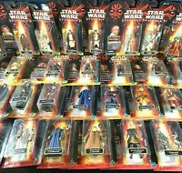 32 Action Figures STAR WARS Compl. Episode 1 Toy Set LEIA Darth YODA Hasbro Lot!