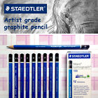 Staedtler Lumograph 100 Artist Graphite Pencil 2H HB B 2B 3B 4B 5B 6B EE - ALLEY