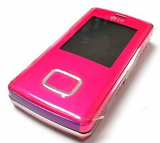 LG Chocolate KG800 PINK UNLOCKED TRIBAND CAMERA,BLUETOOTH,GSM SLIDER CELL PHONE.