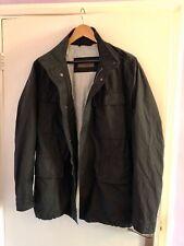 Hugo Boss Selection Men's Zip Up Jacket Black Size 48 Medium M VGC