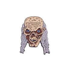 Tales from the Crypt Crypt-Keeper Skull Horror Movie Enamel Pin Lapel