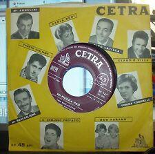 """FRED BUSCAGLIONE """"ERI PICCOLA COSI'/COCCO BELLO"""" 1958 CETRA SP147"""