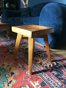 tabouret charlotte perriand christian durup 1950 mid century original assise