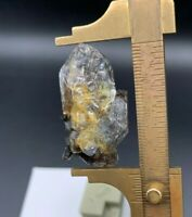 18 g Natural 'Blackimer' Herkimer Diamond Cluster, Saturated with Inclusions of