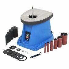 Vidaxl Ponceuse À Axe oscillant 450 W Bleu outils