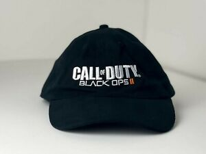 Call of Duty Black Ops 2 Adjustable Snapback Baseball Cap Adult Black