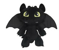 12'' How to Train Your Dragon Toothless Night Fury Stuffed Xmas Plush Toy Doll