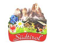 Südtirol Italien Italy 3 D Holz Souvenir Deluxe Magnet,Neu