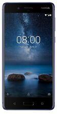 Nokia 8 4GB RAM 64GB ROM - AZUL (Dual SIM, Libre, Español, Garantía)