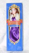 "Vintage HTF! 1997 Burger King Anastasia 8"" Doll w/ Change of Dress New In Box"