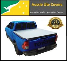 Toyota Hilux SR J-Deck Ute Rope Style Tonneau Cover, October 2015 - Current
