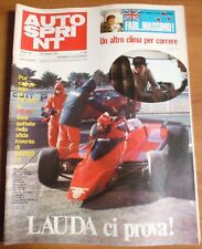 AUTOSPRINT N. 2 1976 - 30 ANNI F. 1: LAUDA  ANDRETTI  REUTEMANN PETERSON   8/19