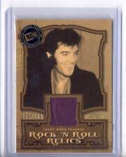 2007 Press Pass Elvis Presley Rock N Roll Relic Pajamas Gold Edition #299/299