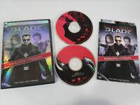 BLADE TRINITY 2 X DVD UNRATED VERSION WESLEY SNIPES ENGLISH ESPAÑOL REGION 1