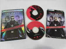 BLADE TRINITY 2 X DVD UNRATED VERSION WESLEY SNIPES ENGLISH ESPAÑOL REGION 1
