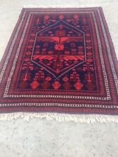 Authentic Turkish rug from the Yagcibedir region. 76 inches W x 106 inches L